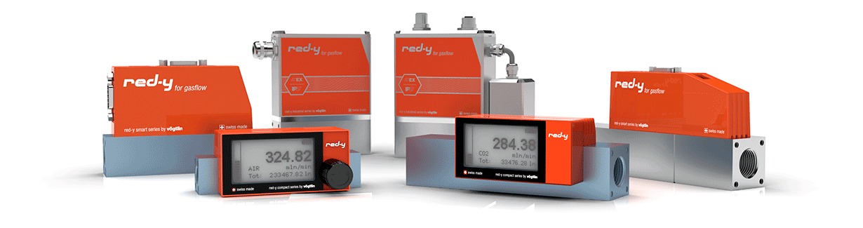 Thermal Mass Flow Meters and Controllers for Gases – red-y for gasflow