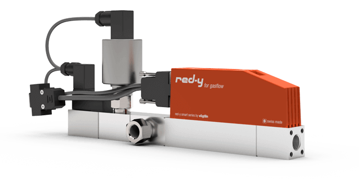 OEM solutions with mass flow meters and controllers for gases – red-y for gasflow
